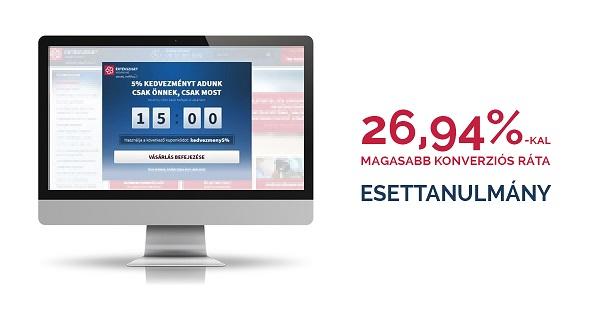 Hogyan növelte meg 26,94%-al a konverziós rátáját az Értéksziget.hu webáruház?