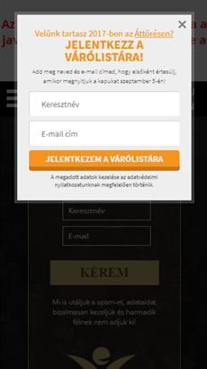 Hogyan népszerűsítette Szabó Péter az Áttörést az OptiMonk segítségével  60edbee60e