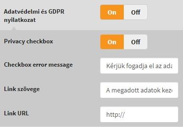 GDPR & OptiMonk popup